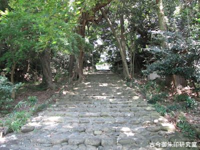 龍尾神社石段