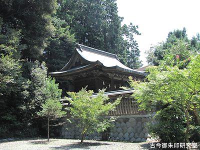 龍尾神社本殿
