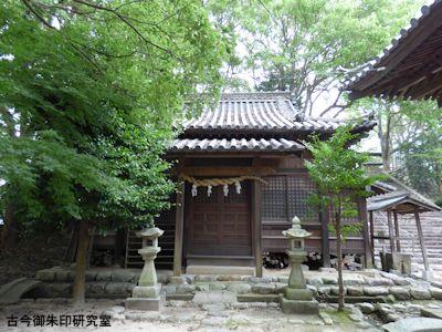 国津比古命神社神楽殿