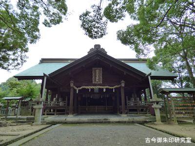 国津比古命神社拝殿