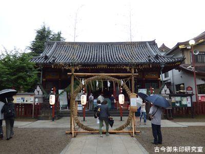 浅草神社拝殿