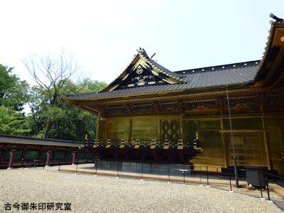 上野東照宮本殿