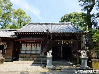 高知八幡宮合同社殿