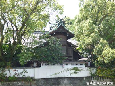 高知八幡宮本殿