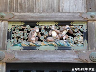 日光東照宮神厩舎の三猿