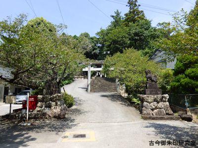掛川神社二の鳥居