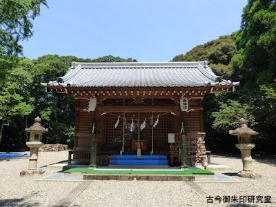 掛川神社拝殿