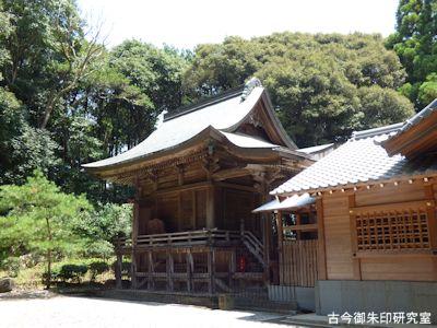 掛川神社本殿
