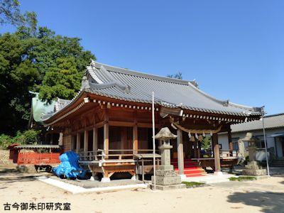 川上神社舞殿