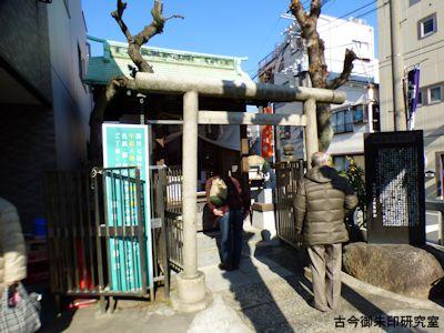 深川稲荷神社社殿