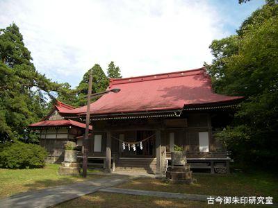 古四王神社拝殿