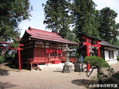 上杉神社末社福徳稲荷神社