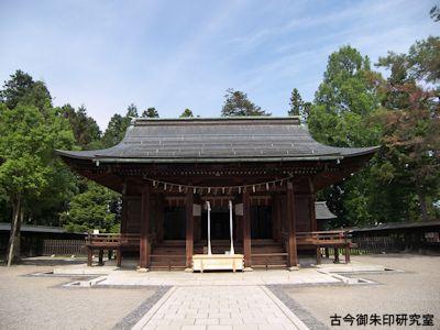 上杉神社拝殿