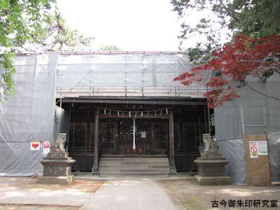 松岬神社拝殿
