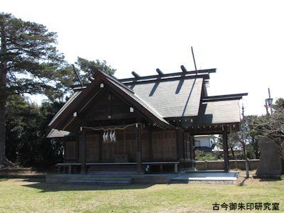 鶴谷八幡宮、安房神社遥拝殿