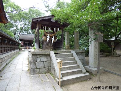 藤森神社旗塚
