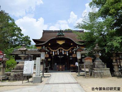 藤森神社本殿
