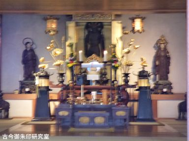 天王寺の毘沙門天