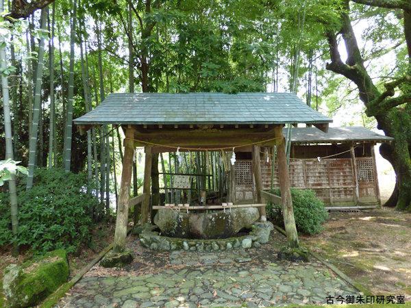 熊野神社(伊予新宮)手水舎