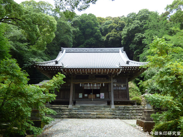 熊野神社(伊予新宮)拝殿
