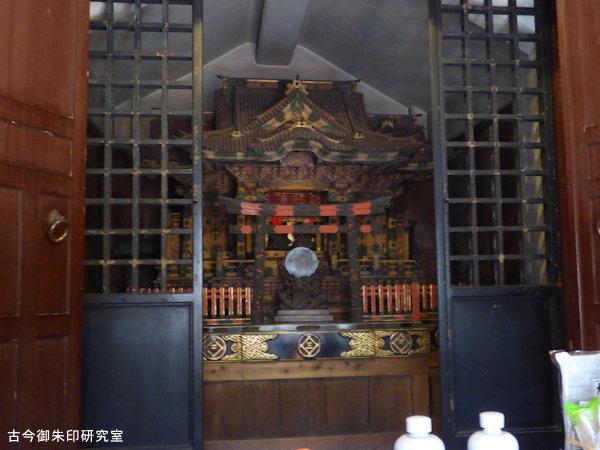 三囲神社大国恵比寿社内社殿