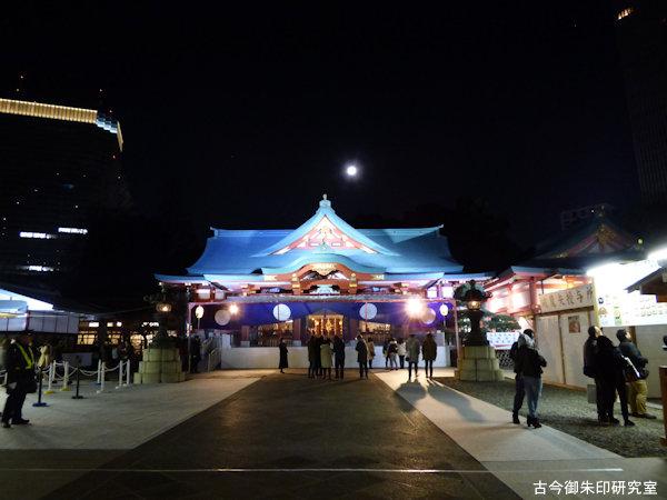 赤坂日枝神社拝殿