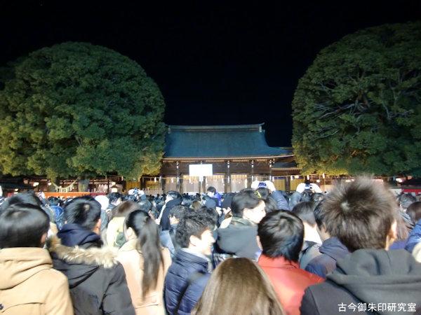 明治神宮拝殿(平成26年)